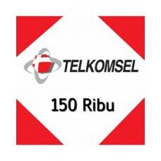 Pulsa Telkomsel 150 Ribu