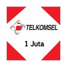 Pulsa Telkomsel 1 Juta