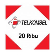 Pulsa Telkomsel 20 Ribu