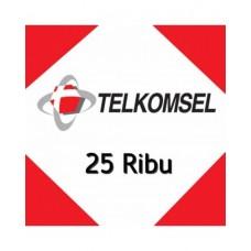 Pulsa Telkomsel 25 Ribu
