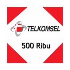 Pulsa Telkomsel 500 Ribu