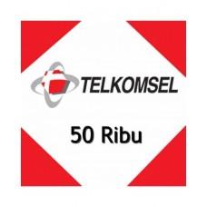 Pulsa Telkomsel 50 Ribu