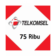 Pulsa Telkomsel 75 Ribu