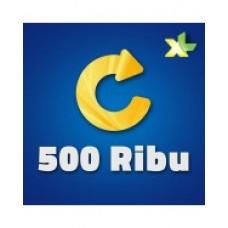 Pulsa XL 500 Ribu