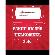 Paket Bicara Telkomsel 25K