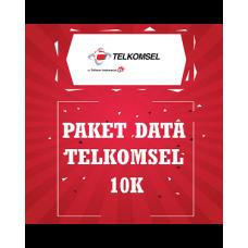 Paket Data Telkomsel 10K
