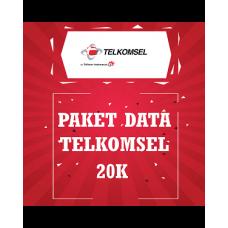 Paket Data Telkomsel 20K