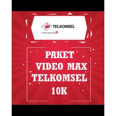 Paket Video Max Telkomsel 10K